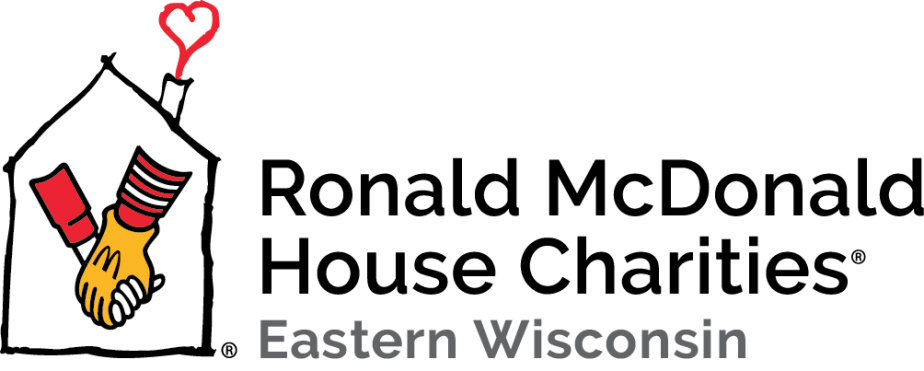 RMHC Eastern Wisconsin Horizontal Text on the Right Full Color